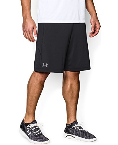 "Under Armour Men's Raid 8"" Shorts, Black/Graphite, X-Large"