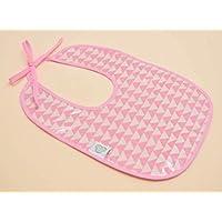 Babero de Plástico para Bebé en Color Rosa