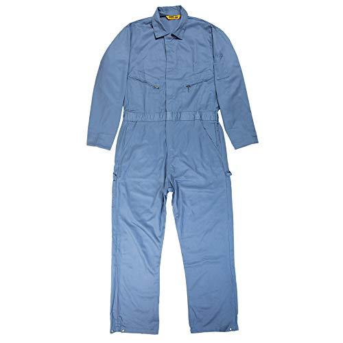 Hot Rod Movie Halloween Costume (Berne Men's Deluxe 8.2 Ounce Unlined Coverall, Postman Blue, 40)