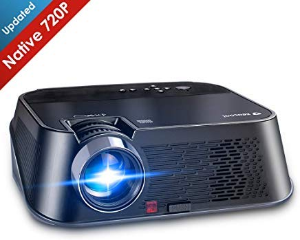 Zeacool HD Video Projector, Super Bright 3500 Lumens Home Theater Projector Supports 1080P Full HD, Compatible with Fire TV Stick, Roku, PS4, Smart Phone, PC & More for Movies, TV and Gaming