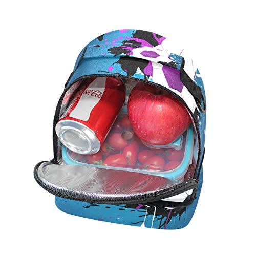 para para el con almuerzo térmica ajustable la correa Bolsa de hombro Alinlo pincnic escuela para el Pwq8yB1pR