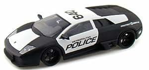 Lamborghini Murcielago LP640, Metropolitan Policia, policia (US) , Modelo de Auto, modello completo, Jada 1:24