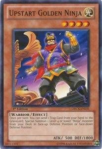 Yu-Gi-Oh! - Upstart Golden Ninja (ORCS-EN031) - Order of Chaos - 1st Edition - Common