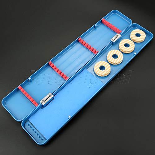 Agordo Multifunctional Fishing Float Box Gear Boxes Fishing Tackle Tool Box Case Blue