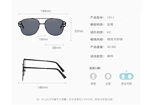 du Gradient vintage lunettes polarisées de soleil métallique Gris style rond Lennon cercle inspirées en retro xxSqaOF