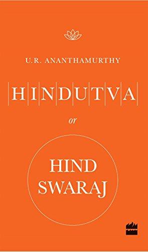 book cover of Hindutva or Hind Swaraj