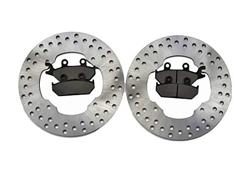 2014-2017 Can-Am Maverick XMR 1000R Front Brake Rotors and Front Brake Pads CycleATV