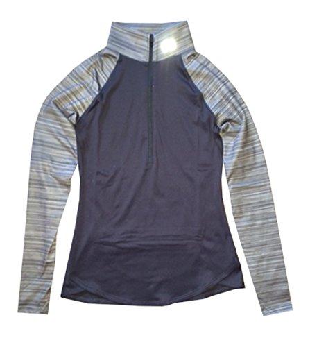 Under Armour Women UA Running Qualifier Printed 1/2 Zip Jacket Shirt (M, Lead) (Range Qualifier compare prices)