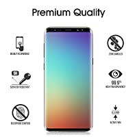 Galaxy S9 Glass Screen Protector, [Update Version] OTAO 3D Curved Samsung S9 Tempered Glass Screen Protector 2018 with Easy Installation Tray (Case Friendly)(NOT S9 PLUS) from otao