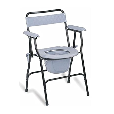 9a755f88c Buy KosmoCare Premium Imported Folding Commode Chair Online at Low Prices  in India - Amazon.in