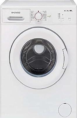 Daewoo lavadora carga frontal 6 kg clase A + + 49 cm 800 rpm dwd ...