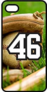 iphone covers Baseball Sports Fan Player Number 46 Smoke Rubber Decorative Iphone 6 4.7 Case