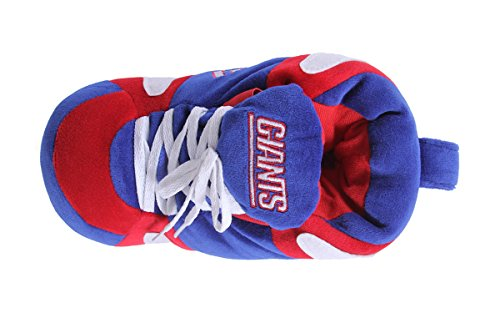New York Giants Feet OFFICIALLY Womens Slippers and Comfy Happy LICENSED Feet Mens Sneaker NFL wOxPwq17