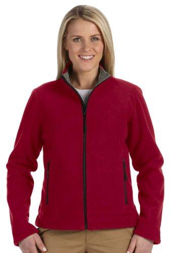 Devon & Jones Ladies' Advantage Soft Shell Jacket - CRIMSON - S - Advantage Jacket Soft