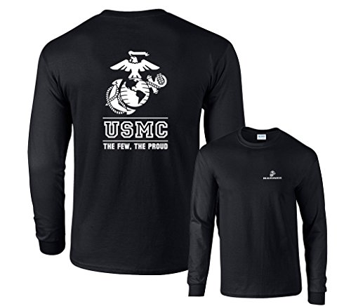 fair-game-usmc-the-few-the-proud-white-emblem-marines-fb-long-sleeve-t-shirt-black-large