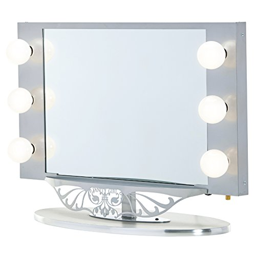 Starlet Lighted Vanity Mirror Reviews : Starlet Lighted Vanity Mirror - Gloss Pink - ZonHunt