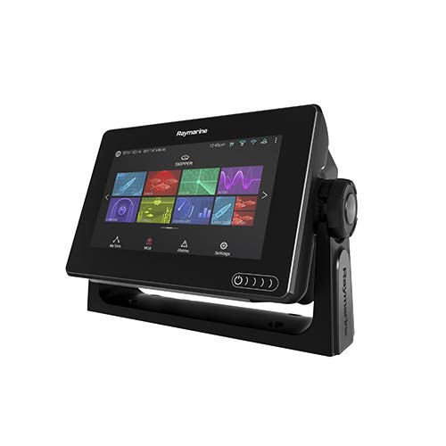(Raymarine E70365-03-LNC Axiom 7 RV Multifunction Display with Integrated RealVision 3D, 600W Sonar, RV-100 transducer and Lighthouse Coastal Vector Charts)