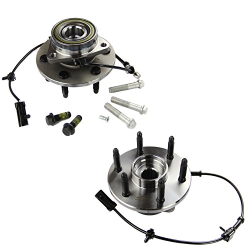 MOTORMAN 515036 Front ABS Wheel Hub and Bearing Set - Both Left and Right - Pair of 2