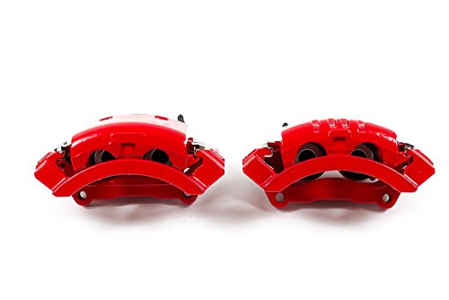 Power Stop S4894 Red Powder-Coated Performance Caliper by POWERSTOP (Image #1)