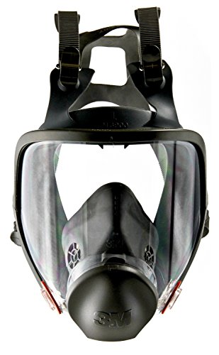 3M Full Facepiece Reusable Respirator 6900 Respiratory Protection Large Pack of 1