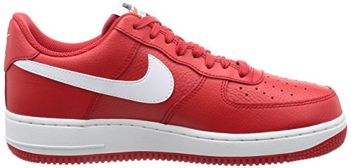 White and Red White Basketball black white Force Shoes University Men's Air 1 Red Nike xAn4YwP0qZ