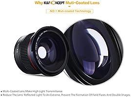 K & F Concepto 58 mm 0.35 x Super HD MC Gran Angular Macro Lente ...