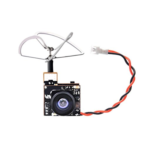 GOQOTOMO GT06 AIO 600TVL Micro Camera 48CH 5.8GHz 25mW FPV Transmitter for Indoor FPV Drone Like Blade Inductrix Tiny Whoops