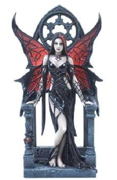 VERONESE 9 Inch Aracnafaria by Anne Stokes Collectible Fairy Figure Gothic Decor Figurine