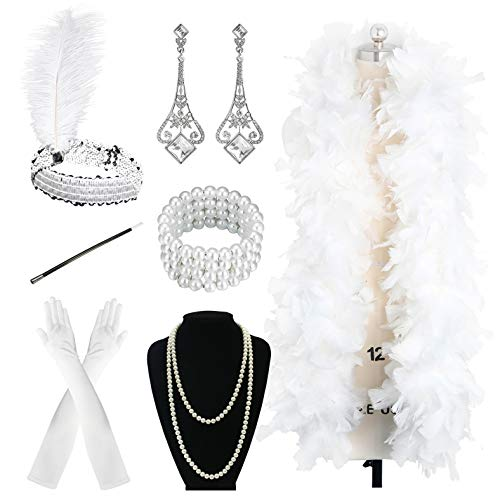Zivyes 1920s Accessories Flapper...