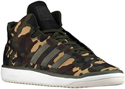 ADIDAS Hombre Camuflaje Veritas Mid Noche Militar Negro Verde Zapatillas b34536: Amazon.es: Zapatos y complementos
