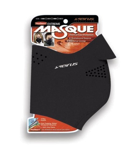Seirus Innovation 6820 Neofleece Extreme Adjustable Face Masque - Winter Cold Weather Face Protection over the Ears and Neck