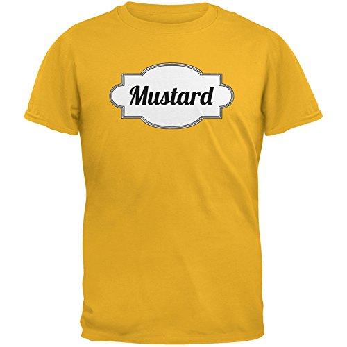 Old Glory Halloween Mustard Costume Gold Adult T-Shirt - -