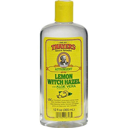Thayers Thayers witch hazel astringent with aloe vera formula, lemon, 12 fluid ounce ()
