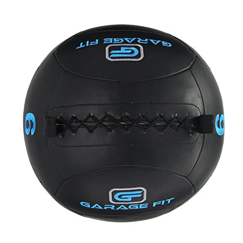 Soft medicine ball wall for cross training black