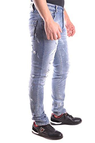 Philipp Plein Homme S17CMDT0079PDE012N29WA Bleu Coton Jeans