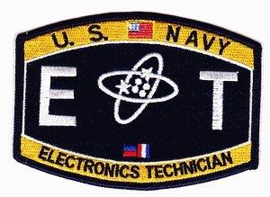 Amazon.com: US Navy Electronics Technician ET Patch: Automotive