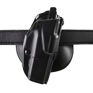 Safariland 6378 ALS, Paddle & Belt Slide Holster, Glock 19, 23 w/ITI M3 Light, Plain Black, Right Hand