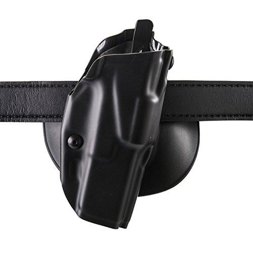 Safariland 6378 ALS, Paddle & Belt Slide Holster, Glock 19, 23 w/ITI M3 Light, Plain Black, Right Hand (Color Finish Hand Plain Right)