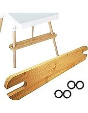 Footrest for IKEA Antilop Highchair, Ergonomic Design Bamboo Footboard, High Chair Accessories Foot Rest,Highchair Footrest for Baby,Bamboo Wooden Accessories