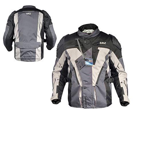 SRZ Motorcycle Hydra Jacket/Motorbike Hydra Jacket (X-Large) ()