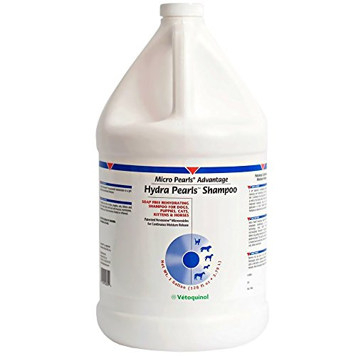 Hydra Pearls Rehydrating Shampoo for Dogs Cats (1 Gal) by Evsco Pharmaceuticals