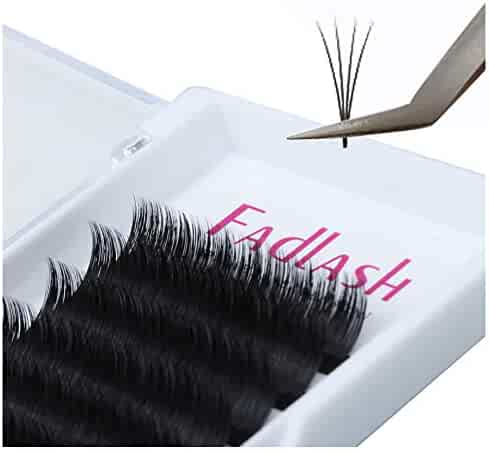 21df0dc3934 Volume Lash Extensions D Curl 0.07mm 2D~20D Mixed Tray Easy Fan Volume  Lashes