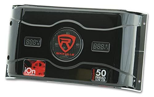 Rockville RXC50D 50 Farad 24V Surge Hybrid Ion Capacitor Voltage & Amerage Meter by Rockville (Image #4)