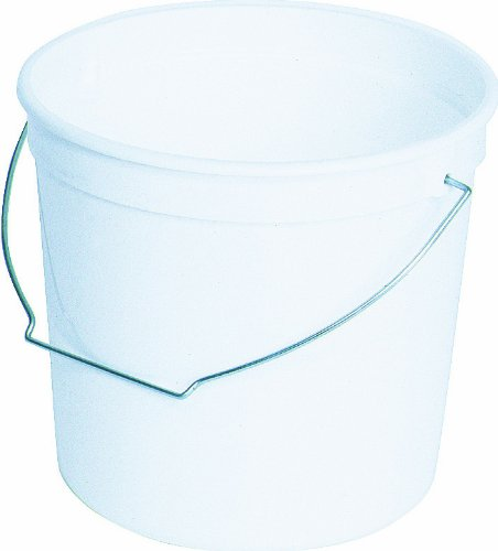 Encore Plastics 62080 Plastic Pail with Handle, 2.5-Quart ZipWall