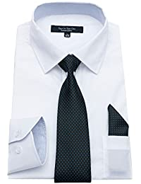 "<span class=""a-offscreen"">[Sponsored]</span>Mens Long Sleeve Dress Shirts Regular Fit Business Shirts"