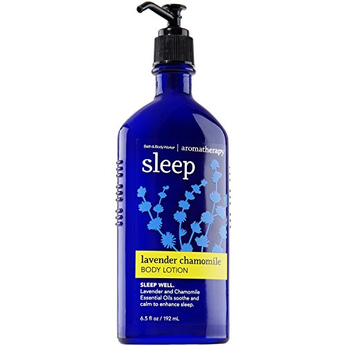 - Bath & Body Works 6.5 Ounce Lotion Aromatherapy Sleep Lavender Chamomile