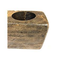 Starworld - Primitive 3 Hole Wooden Sugar Mold Woo