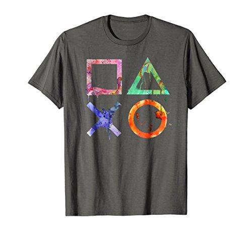 Playstation Watercolor Symbols T-shirt