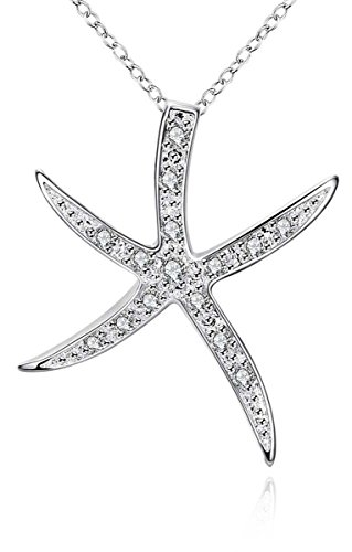 Sterling Starfish Necklace - 9