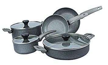 Moneta Greystone Artech Stone 8 Piece Cookware Set